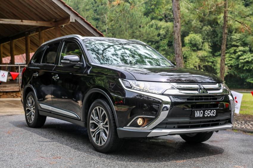 PANDU UJI: Mitsubishi Outlander 2.0L 4WD CKD – harga, kelengkapan jadi kelebihan; itu sudah cukup? Image #748125