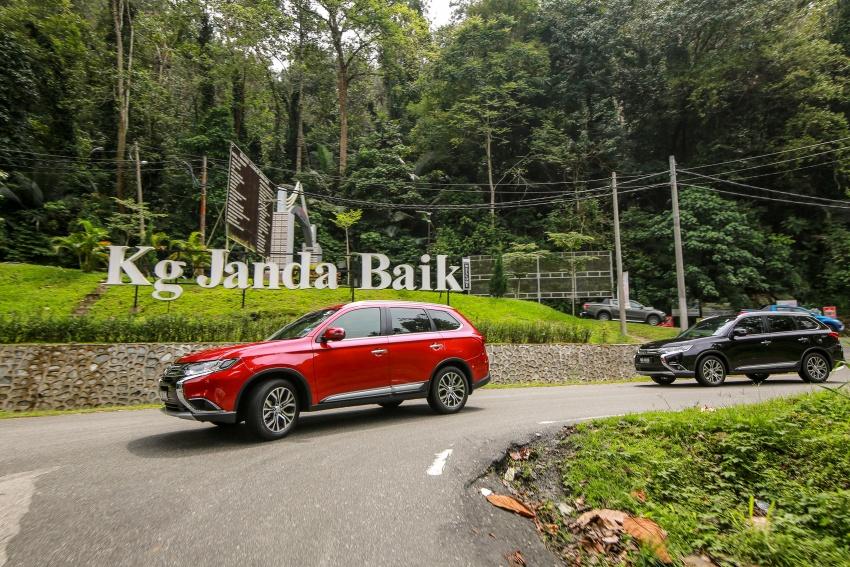 PANDU UJI: Mitsubishi Outlander 2.0L 4WD CKD – harga, kelengkapan jadi kelebihan; itu sudah cukup? Image #748129