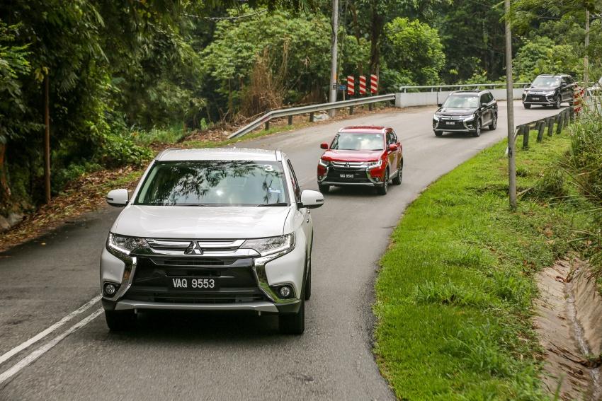 PANDU UJI: Mitsubishi Outlander 2.0L 4WD CKD – harga, kelengkapan jadi kelebihan; itu sudah cukup? Image #748130