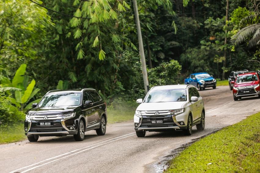 PANDU UJI: Mitsubishi Outlander 2.0L 4WD CKD – harga, kelengkapan jadi kelebihan; itu sudah cukup? Image #748131