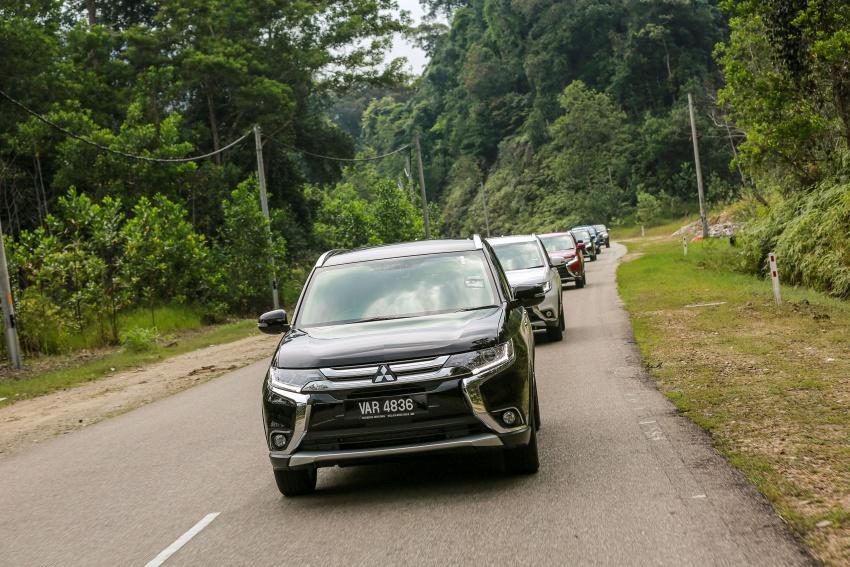 PANDU UJI: Mitsubishi Outlander 2.0L 4WD CKD – harga, kelengkapan jadi kelebihan; itu sudah cukup? Image #748132