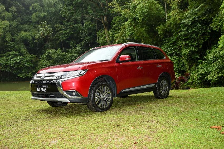 PANDU UJI: Mitsubishi Outlander 2.0L 4WD CKD – harga, kelengkapan jadi kelebihan; itu sudah cukup? Image #748057