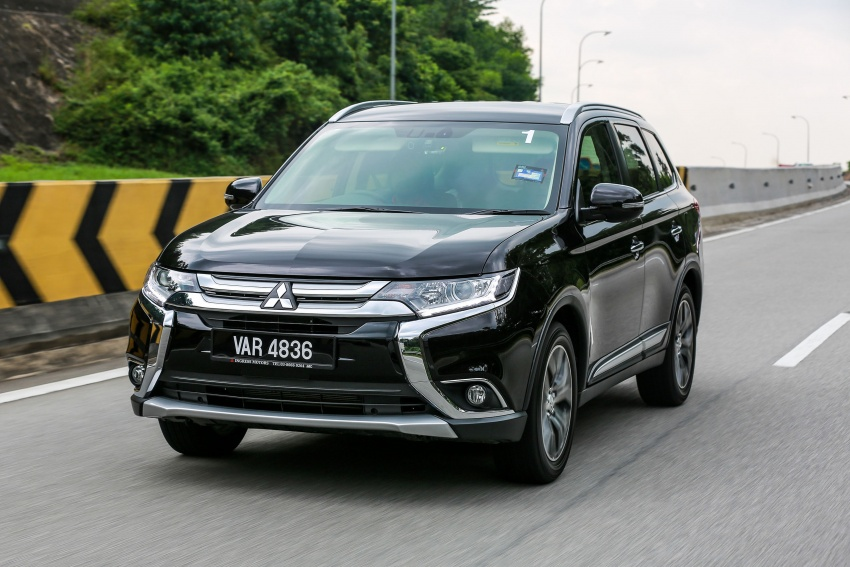 PANDU UJI: Mitsubishi Outlander 2.0L 4WD CKD – harga, kelengkapan jadi kelebihan; itu sudah cukup? Image #748085