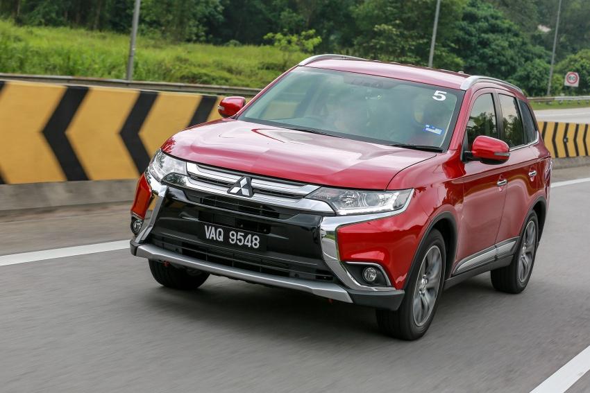 PANDU UJI: Mitsubishi Outlander 2.0L 4WD CKD – harga, kelengkapan jadi kelebihan; itu sudah cukup? Image #748086