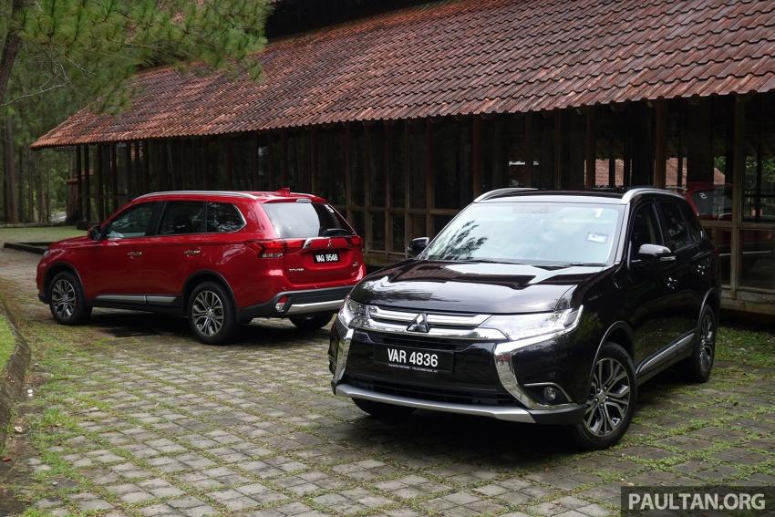 PANDU UJI: Mitsubishi Outlander 2.0L 4WD CKD – harga, kelengkapan jadi kelebihan; itu sudah cukup? Image #748004