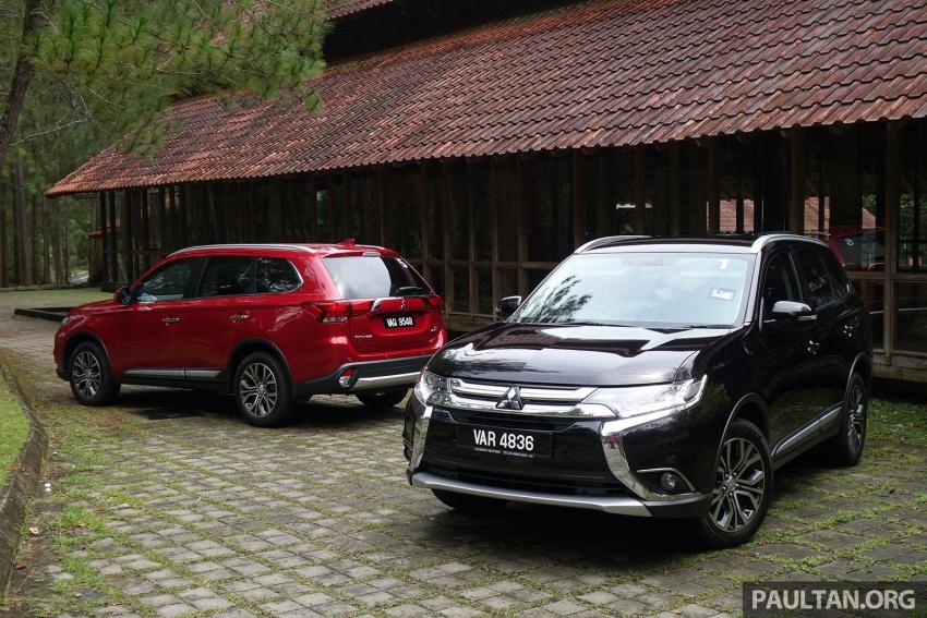 PANDU UJI: Mitsubishi Outlander 2.0L 4WD CKD – harga, kelengkapan jadi kelebihan; itu sudah cukup? Image #748005