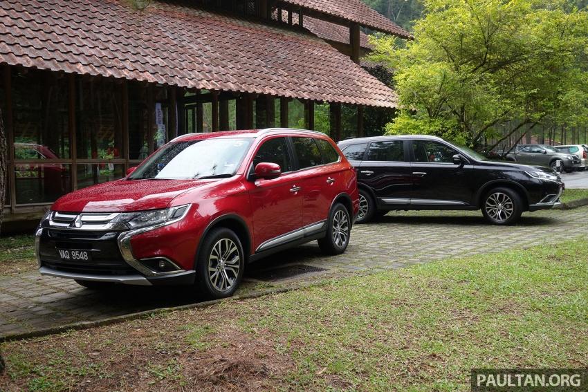 PANDU UJI: Mitsubishi Outlander 2.0L 4WD CKD – harga, kelengkapan jadi kelebihan; itu sudah cukup? Image #748007