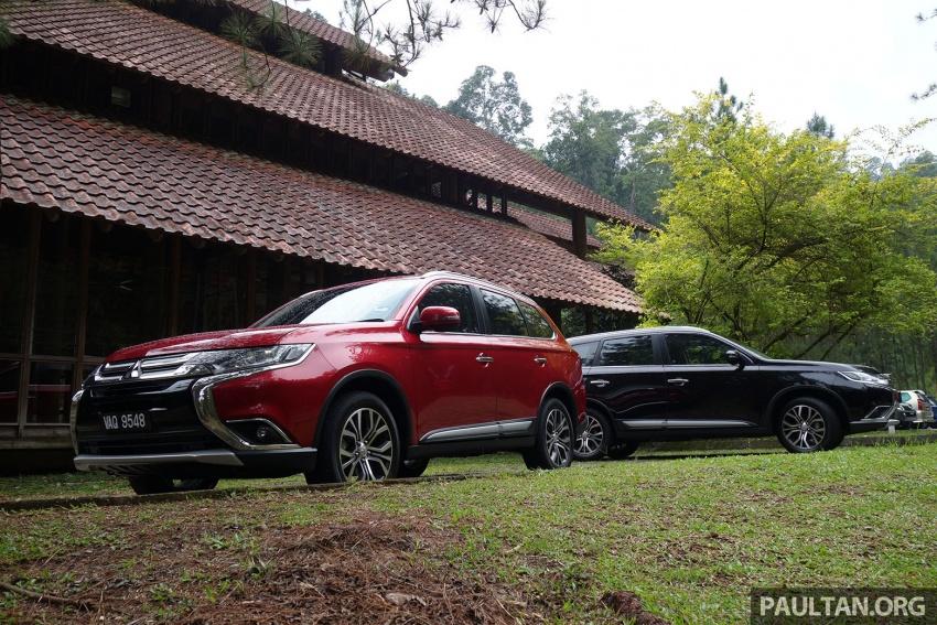 PANDU UJI: Mitsubishi Outlander 2.0L 4WD CKD – harga, kelengkapan jadi kelebihan; itu sudah cukup? Image #748008