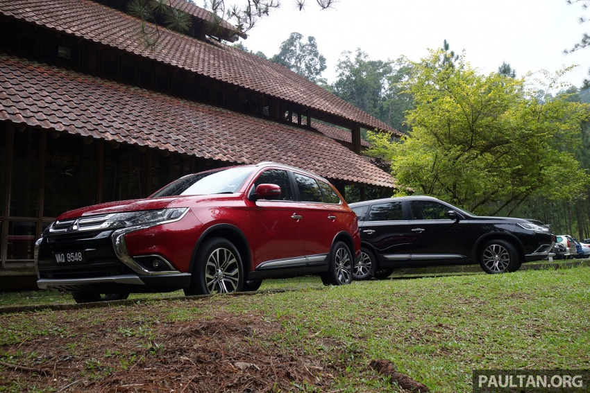 PANDU UJI: Mitsubishi Outlander 2.0L 4WD CKD – harga, kelengkapan jadi kelebihan; itu sudah cukup? Image #748009
