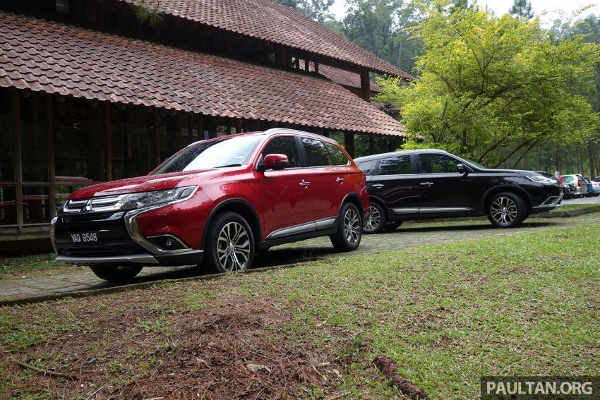 PANDU UJI: Mitsubishi Outlander 2.0L 4WD CKD – harga, kelengkapan jadi kelebihan; itu sudah cukup? Image #748010