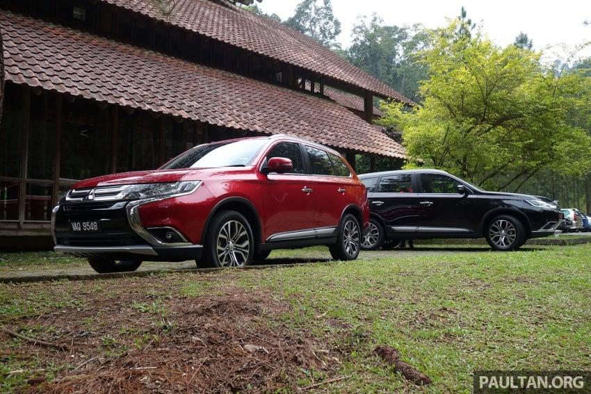 PANDU UJI: Mitsubishi Outlander 2.0L 4WD CKD – harga, kelengkapan jadi kelebihan; itu sudah cukup? Image #748011