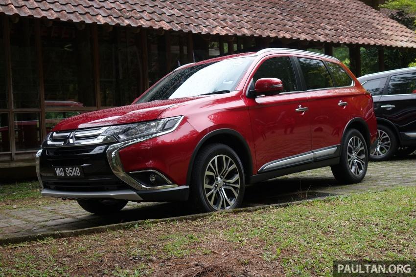PANDU UJI: Mitsubishi Outlander 2.0L 4WD CKD – harga, kelengkapan jadi kelebihan; itu sudah cukup? Image #748012