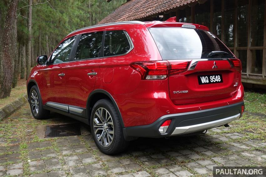 PANDU UJI: Mitsubishi Outlander 2.0L 4WD CKD – harga, kelengkapan jadi kelebihan; itu sudah cukup? Image #748014