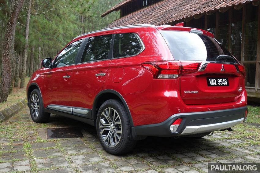 PANDU UJI: Mitsubishi Outlander 2.0L 4WD CKD – harga, kelengkapan jadi kelebihan; itu sudah cukup? Image #748015