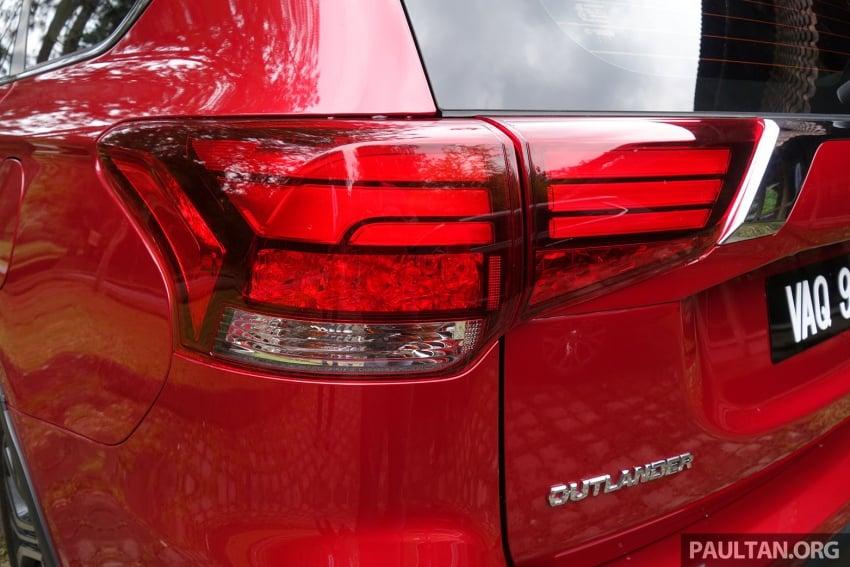PANDU UJI: Mitsubishi Outlander 2.0L 4WD CKD – harga, kelengkapan jadi kelebihan; itu sudah cukup? Image #748017