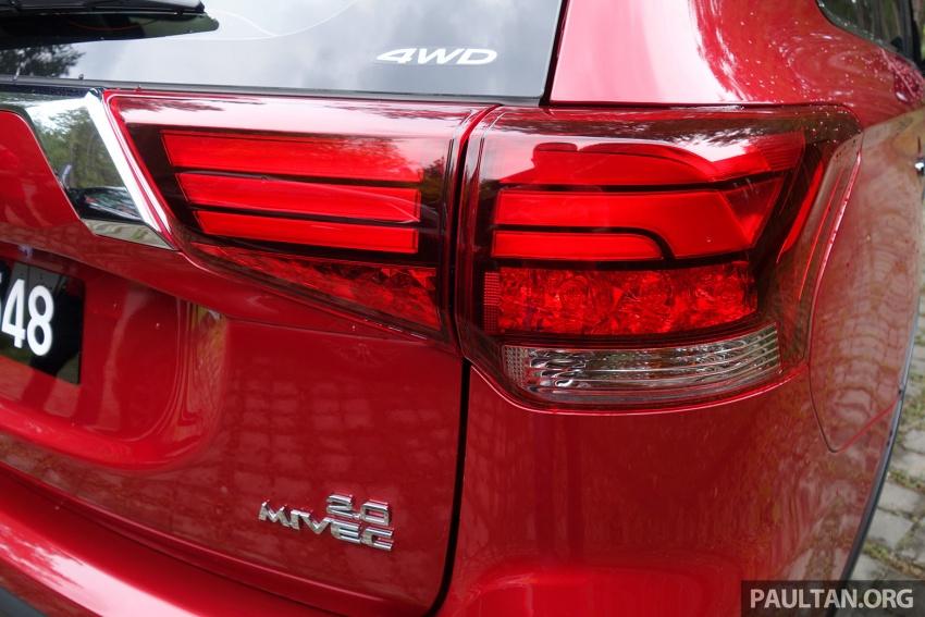 PANDU UJI: Mitsubishi Outlander 2.0L 4WD CKD – harga, kelengkapan jadi kelebihan; itu sudah cukup? Image #748018
