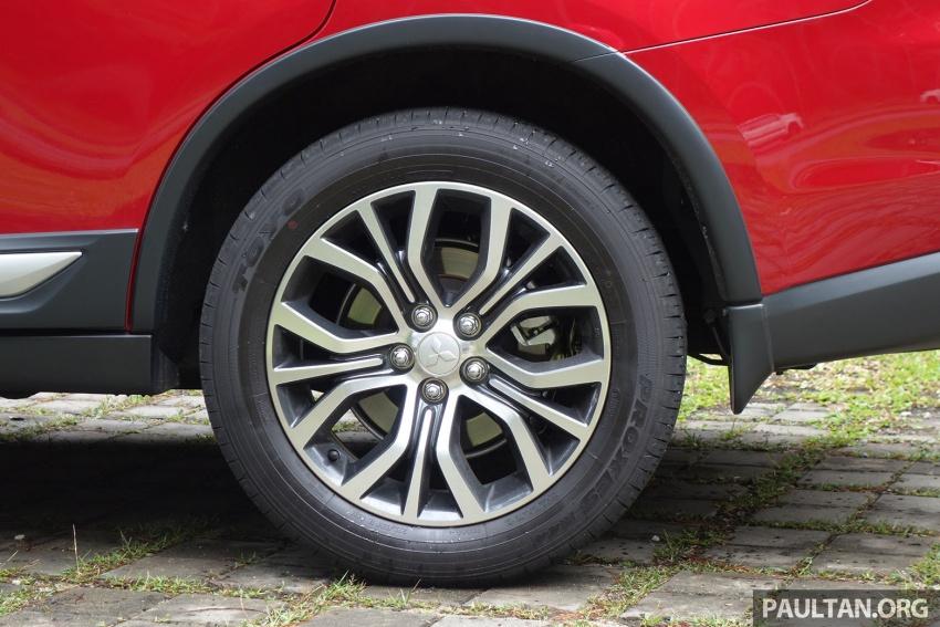 PANDU UJI: Mitsubishi Outlander 2.0L 4WD CKD – harga, kelengkapan jadi kelebihan; itu sudah cukup? Image #748020