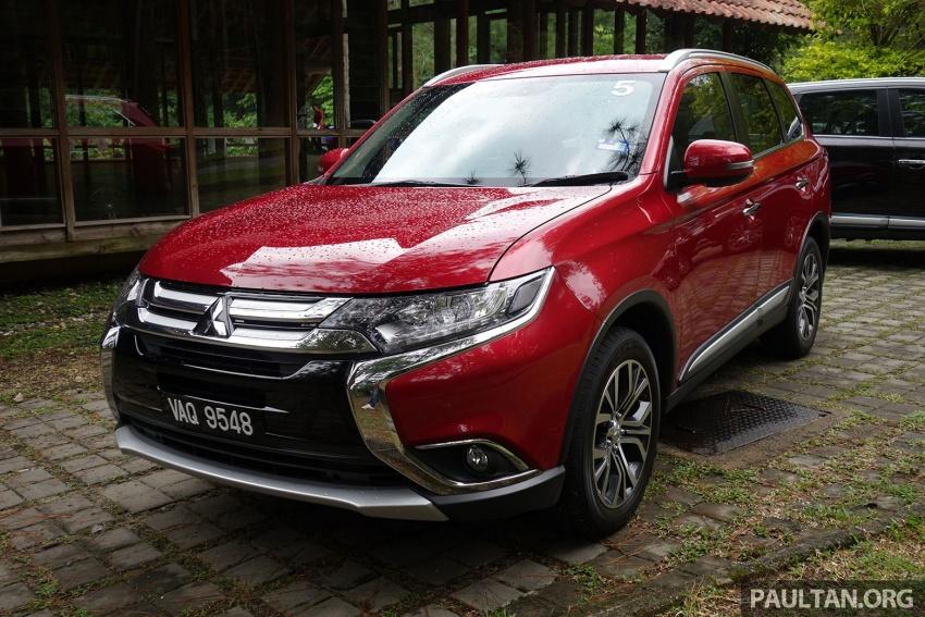 PANDU UJI: Mitsubishi Outlander 2.0L 4WD CKD – harga, kelengkapan jadi kelebihan; itu sudah cukup? Image #748022