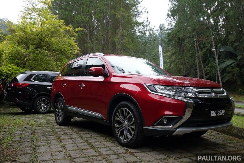 PANDU UJI: Mitsubishi Outlander 2.0L 4WD CKD – harga, kelengkapan jadi kelebihan; itu sudah cukup? Image #748024
