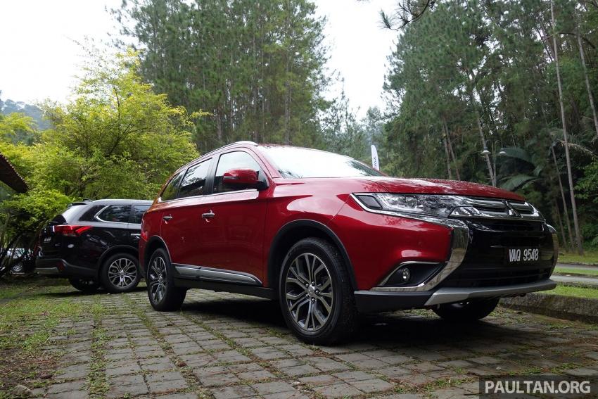 PANDU UJI: Mitsubishi Outlander 2.0L 4WD CKD – harga, kelengkapan jadi kelebihan; itu sudah cukup? Image #748025