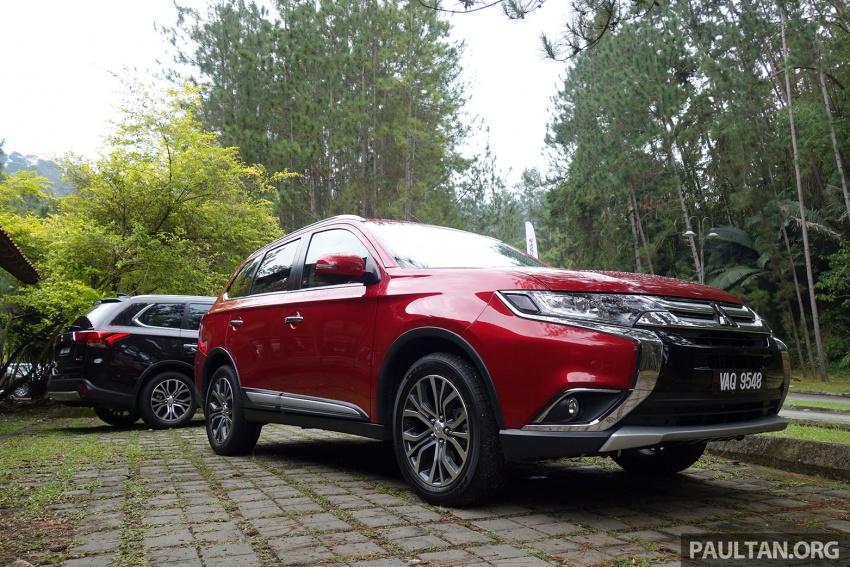 PANDU UJI: Mitsubishi Outlander 2.0L 4WD CKD – harga, kelengkapan jadi kelebihan; itu sudah cukup? Image #748026