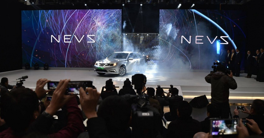 NEVS 9-3 all-electric sedan production starts in China Image #747634