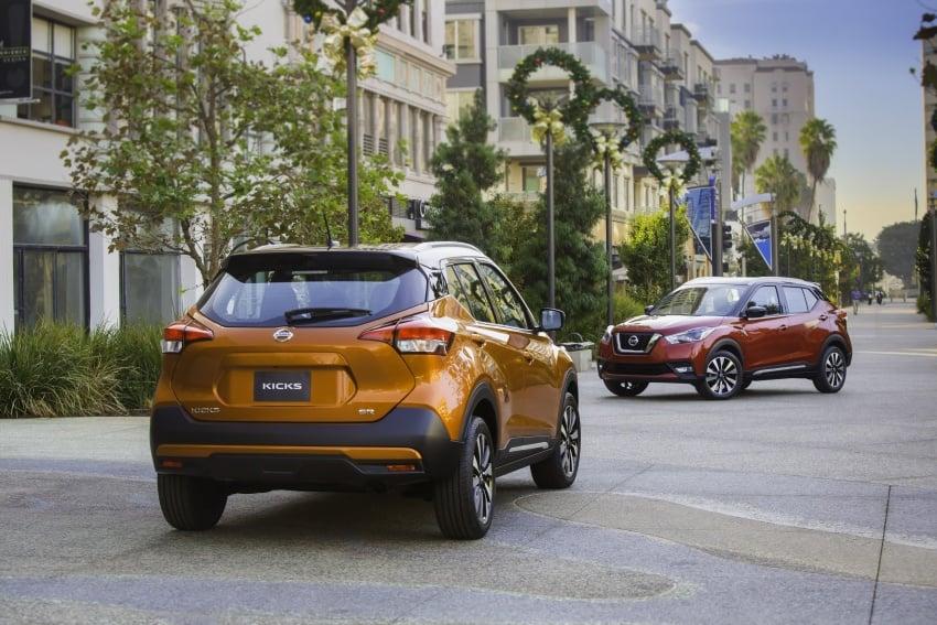 Nissan Kicks B-segment crossover makes US debut Image #746487