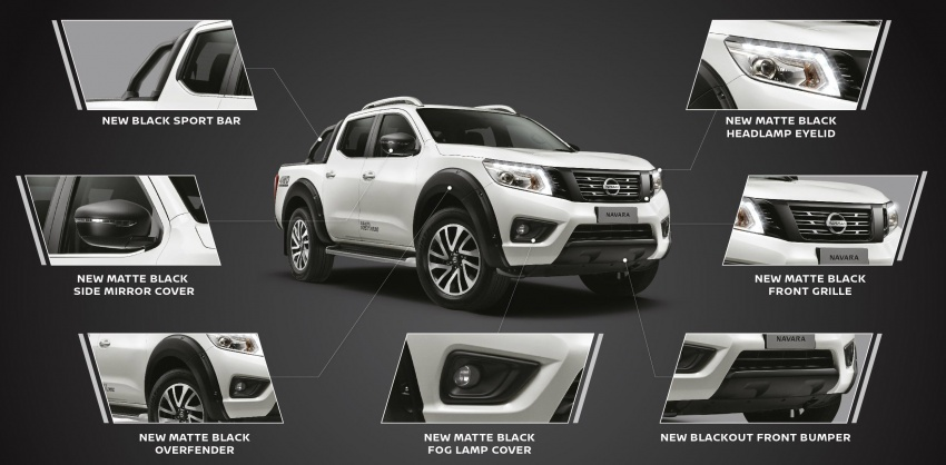 Nissan Navara Black Series launched, from RM109k Image #747250
