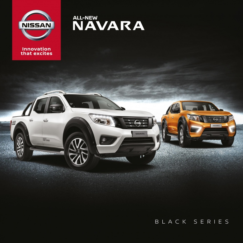 Nissan Navara Black Series launched, from RM109k Image #747251