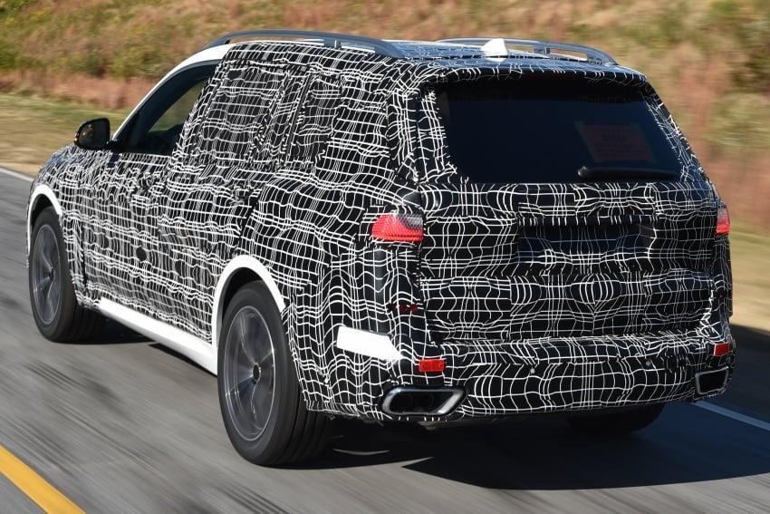 BMW X7 – big SUV teased ahead of late-2018 launch Image #752872