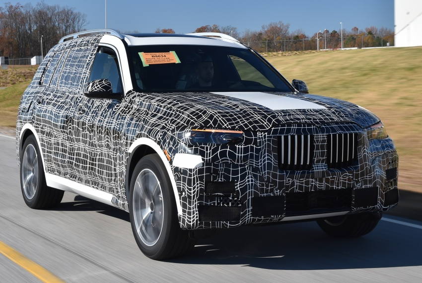 BMW X7 – big SUV teased ahead of late-2018 launch Image #752873
