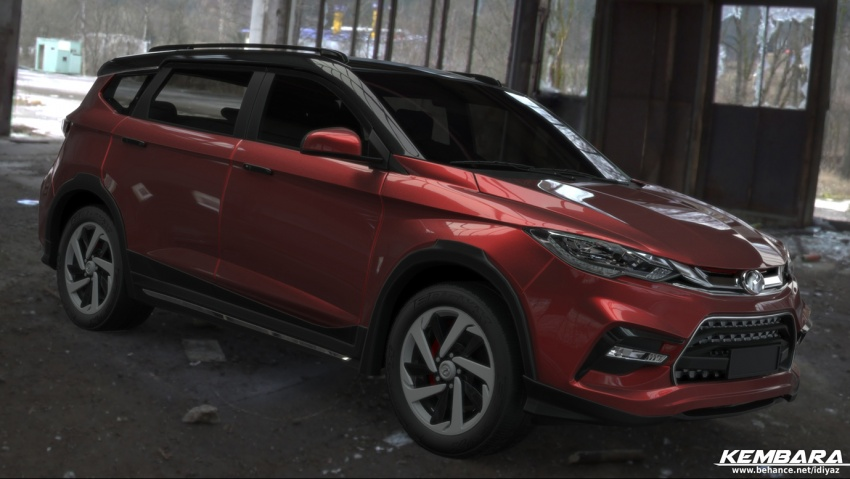 Perodua Kembara rendered: Daihatsu Terios-like SUV Image #751095
