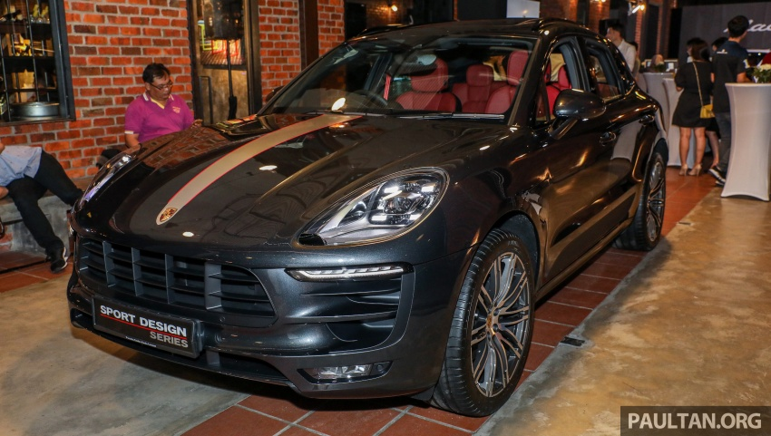 Porsche Macan SportDesign – 40 units only, RM545k Image #750412