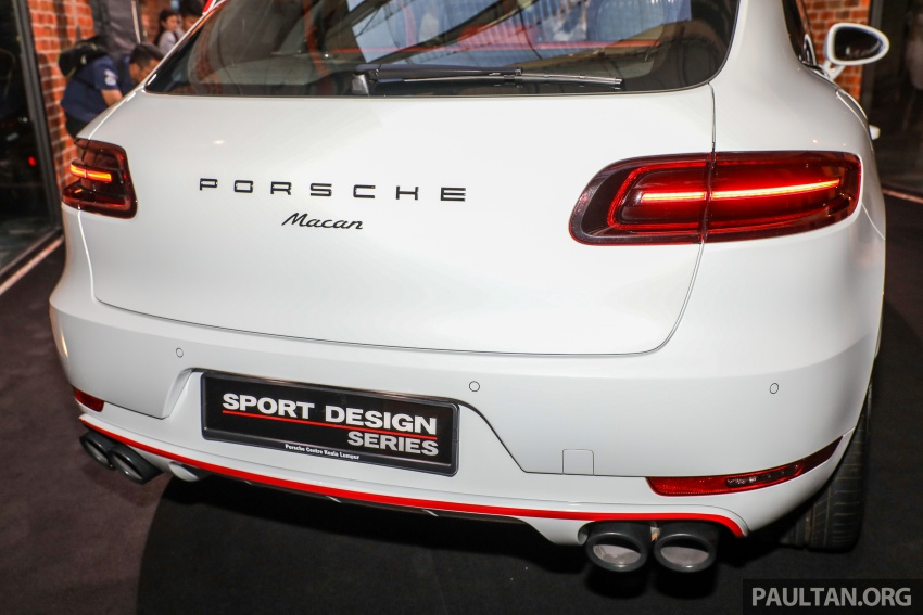 Porsche Macan SportDesign – 40 units only, RM545k Image #750433