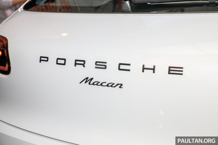 Porsche Macan SportDesign – 40 units only, RM545k Image #750436