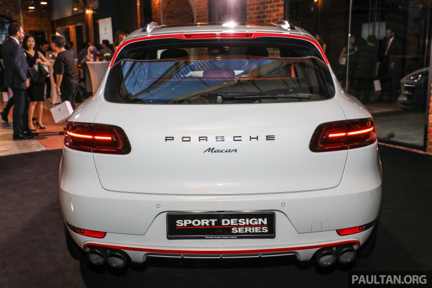 Porsche Macan SportDesign – 40 units only, RM545k Image #750419