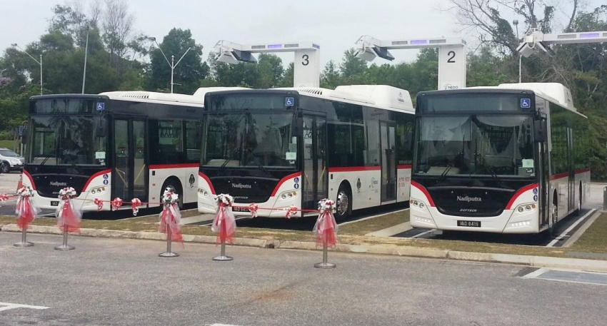 Putra NEDO EV bus revealed – Malaysia's first rapid charge electric bus goes into operation in Putrajaya Image #747231
