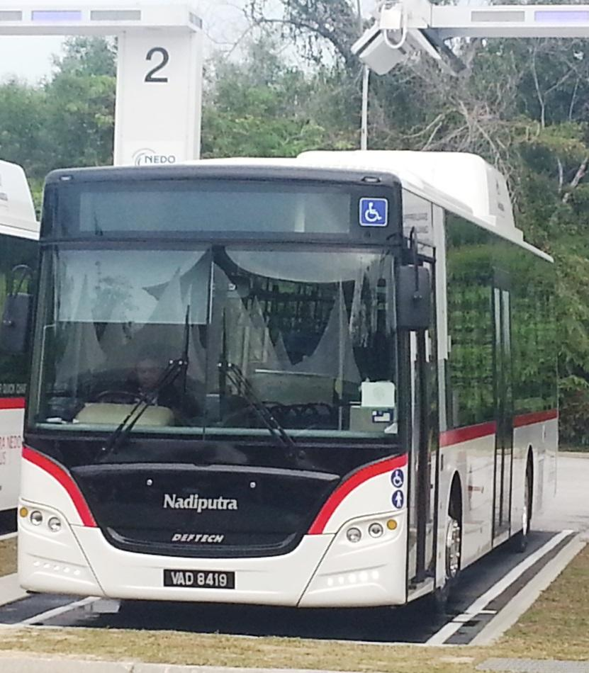 Putra NEDO EV bus revealed – Malaysia's first rapid charge electric bus goes into operation in Putrajaya Image #747232