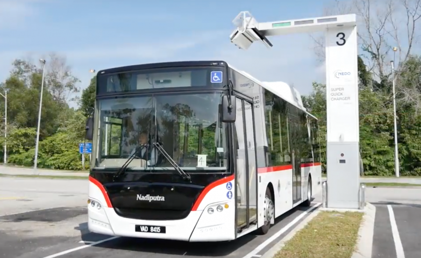 Putra NEDO EV bus revealed – Malaysia's first rapid charge electric bus goes into operation in Putrajaya Image #747236