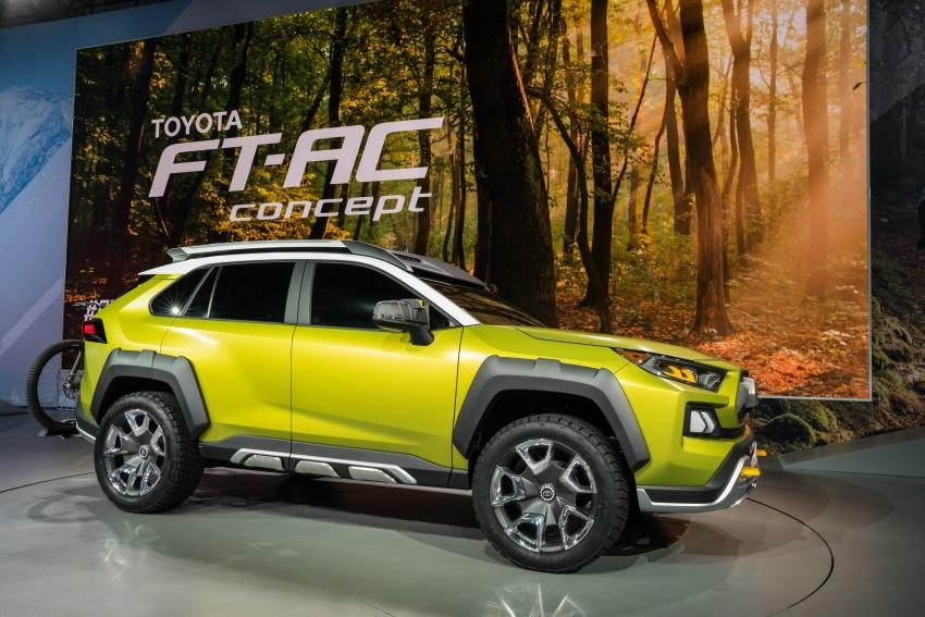 Toyota FT-AC tampil di LA – untuk gaya hidup lasak Image #746577