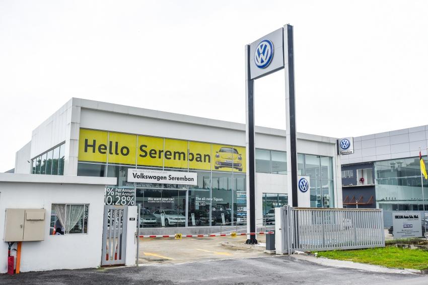 Volkswagen opens doors to new Seremban 3S centre Image #748489
