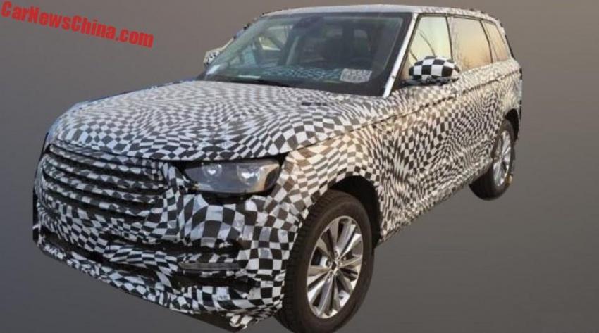 Paten Zotye T800 terdedah; ciplak Range Rover Sport Image #755265
