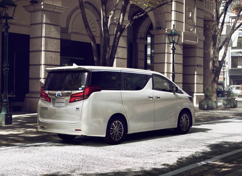 Toyota Alphard, Vellfire facelift: new 3.5 direct-injected V6, 8AT, standard second-gen Toyota Safety Sense Image #753645