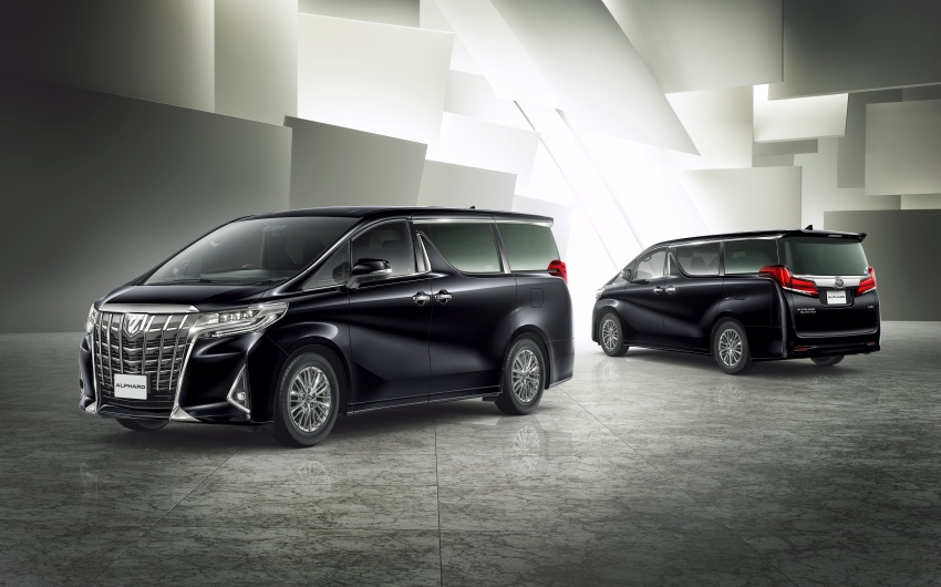 Toyota Alphard, Vellfire facelift: new 3.5 direct-injected V6, 8AT, standard second-gen Toyota Safety Sense Image #753646