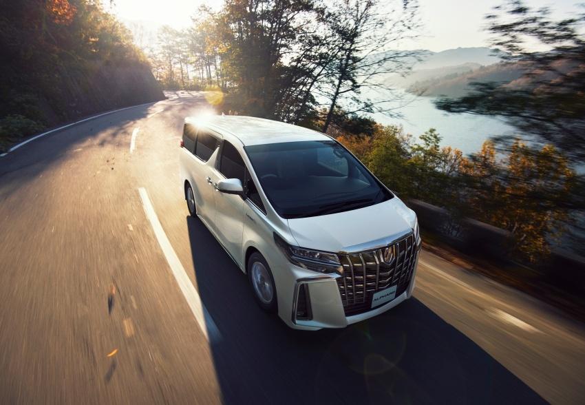 Toyota Alphard, Vellfire <em>facelift</em> – dengan enjin 3.5 liter V6 baru, 8AT dan Toyota Safety Sense generasi kedua Image #753816