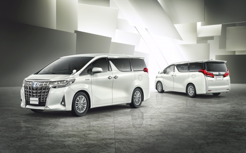 Toyota Alphard, Vellfire facelift: new 3.5 direct-injected V6, 8AT, standard second-gen Toyota Safety Sense Image #753648