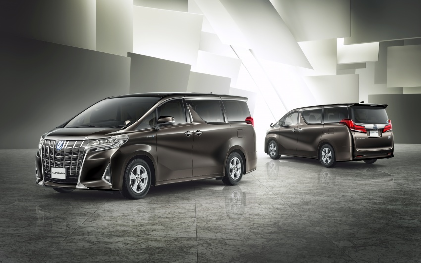 Toyota Alphard, Vellfire facelift: new 3.5 direct-injected V6, 8AT, standard second-gen Toyota Safety Sense Image #753649