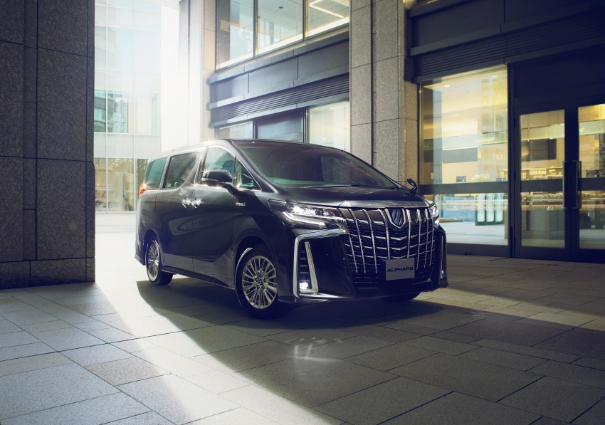 Toyota Alphard, Vellfire <em>facelift</em> – dengan enjin 3.5 liter V6 baru, 8AT dan Toyota Safety Sense generasi kedua Image #753817