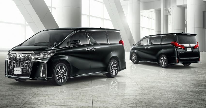 Toyota Alphard, Vellfire facelift: new 3.5 direct-injected V6, 8AT, standard second-gen Toyota Safety Sense Image #753651