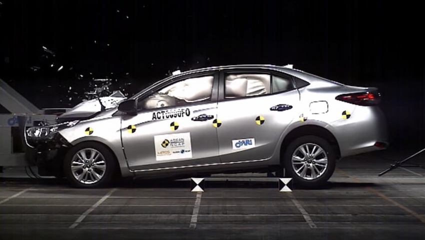 2018 Toyota Vios gets five-star ASEAN NCAP rating – two other vehicles get zero-stars in Q4 2017 testing Image #752537